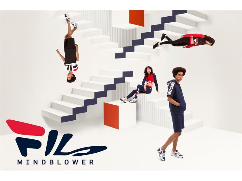 FILA Re-Launches Its Iconic Mindblower Shoe with a New Apparel Collection, 47 Collaborations and an