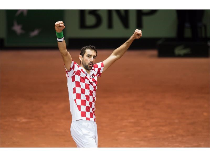 FILA's Marin Cilic Led Team Croatia to Victory at the 2018 Davis Cup