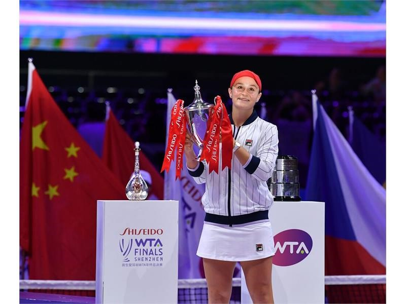 World No. 1 Ash Barty Caps Off Career-Best Year by Capturing WTA Finals Title