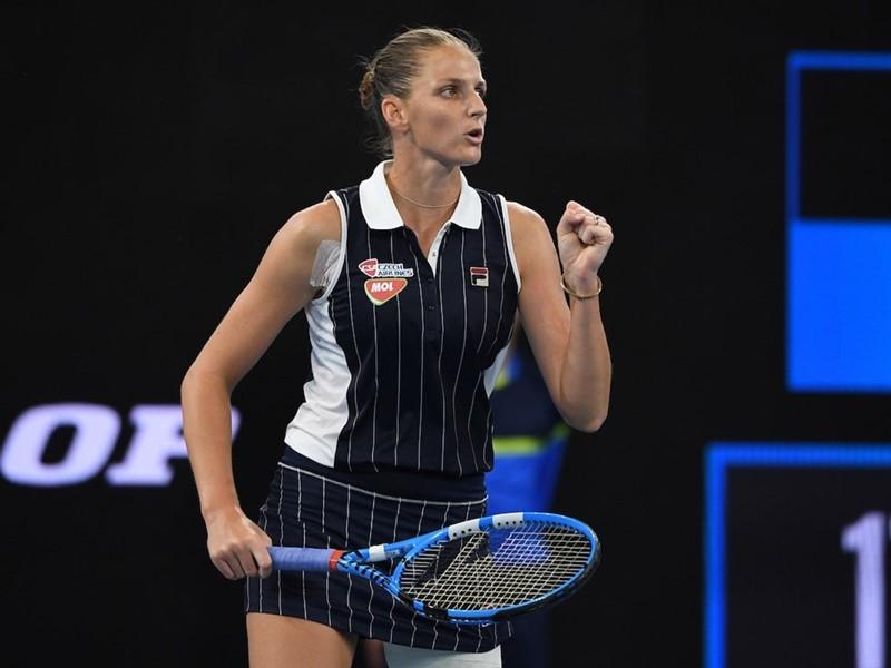 World No. 2 Karolina Pliskova Kicks Off 2020 Season with Perfect Week in Brisbane