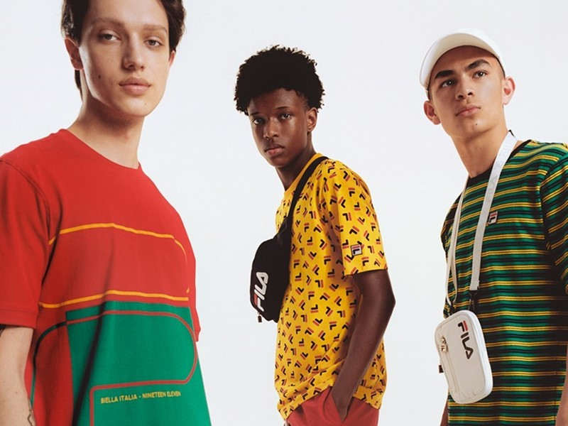 FILA Introduces its Spring/Summer 2020 Men's Carnival Capsule
