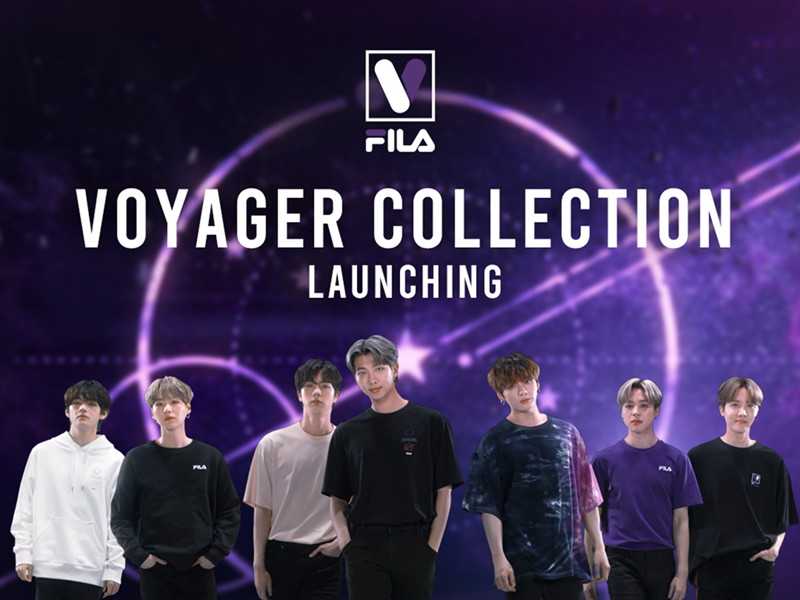 "FILA Korea Launches Special-Edition ""Voyager Collection"""