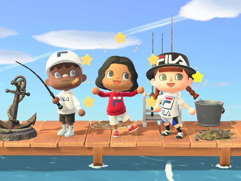 FILA Partners With Nook Street Market to Release a Mini Capsule on Animal Crossing: New Horizons
