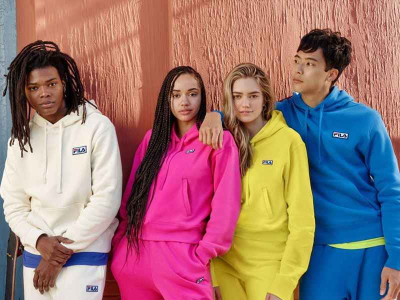 FILA North America's Latest Apparel Collection Unveils Vibrant Colors for Winter 2021