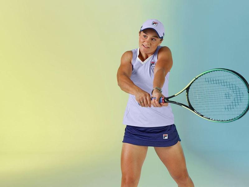FILA Extends Partnership of WTA World No. 1 and Grand Slam Champion Ash Barty