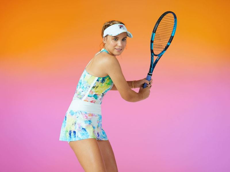 FILA Athletes Ready to Shine Bright in New Tie Breaker Collection at the Miami Open