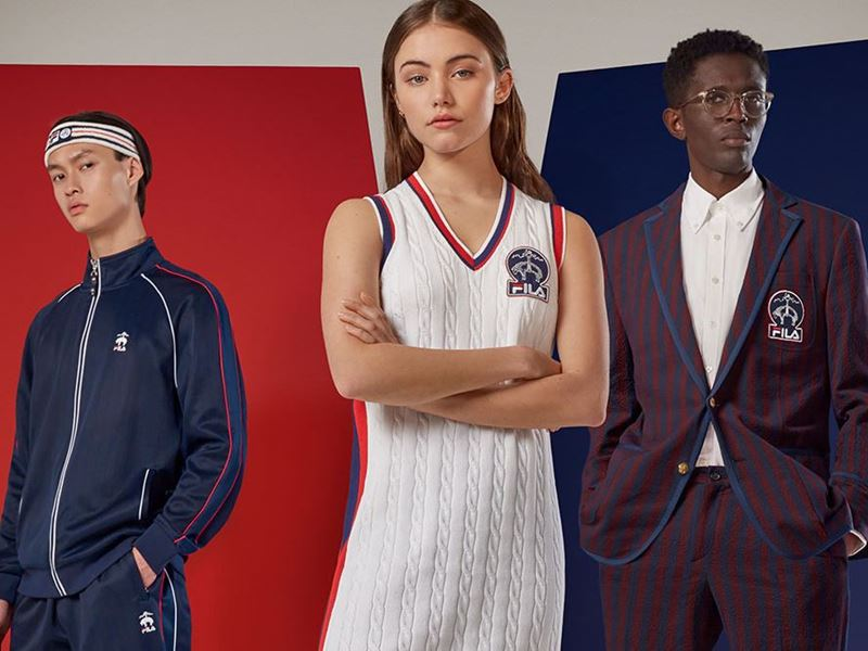 Brooks Brothers and FILA Launch Limited-Edition Collaborative Collection
