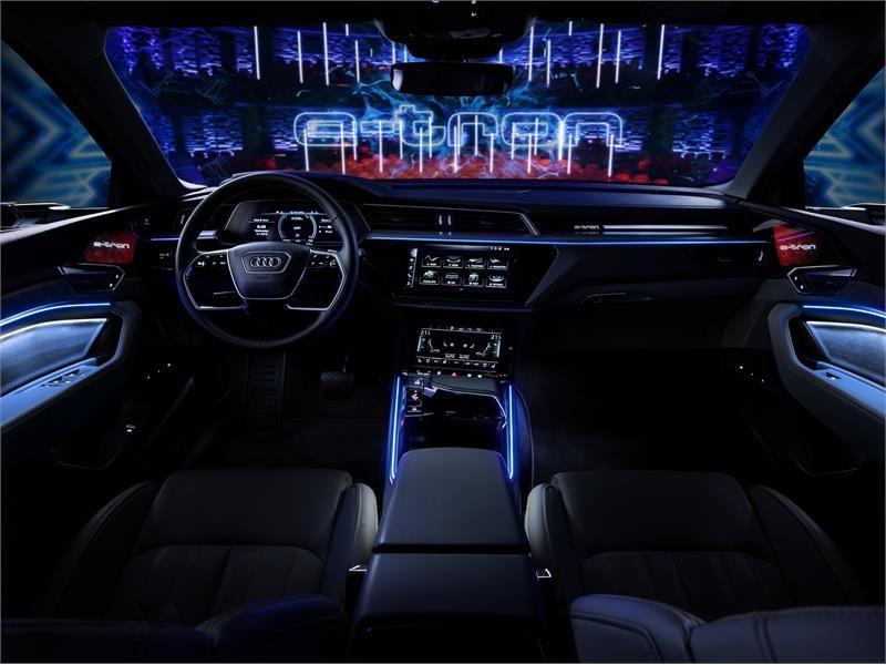 Electrifyingly fun to drive: the Audi e-tron