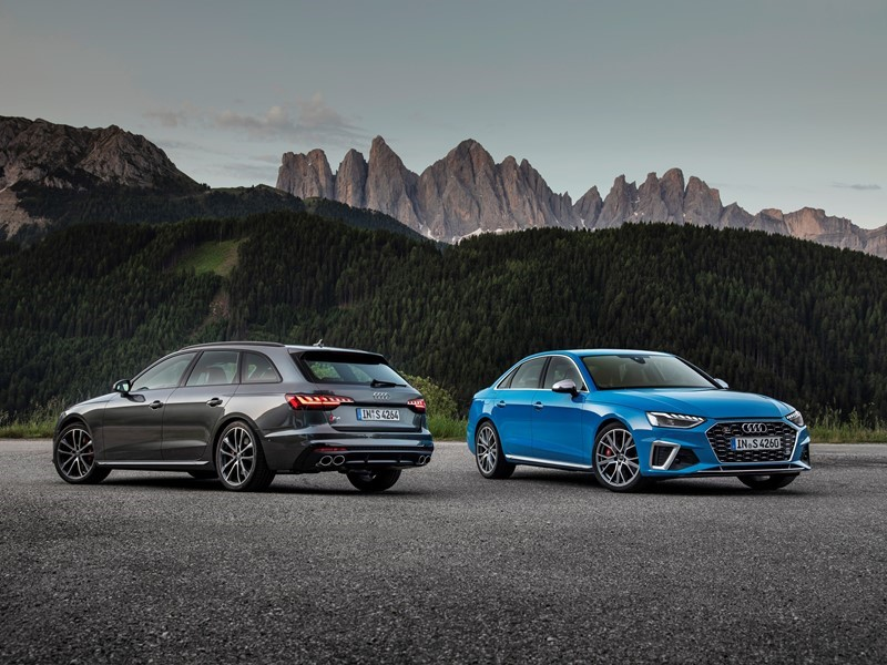The Audi A4 Product line with a New Look