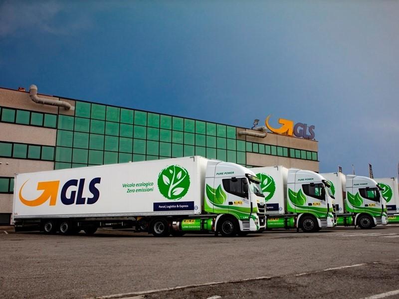 GLS potenzia ulteriormente la propria flotta di mezzi alimentati a LNG
