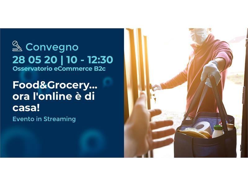 """GLS parteciperà all'evento di settore """"Food&Grocery… ora l'online è di casa!"""""""