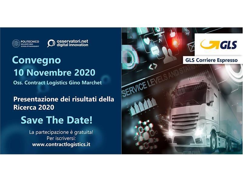 GLS parteciperà al convegno di presentazione dei risultati della Ricerca 2020 dell'Osservatorio Cont