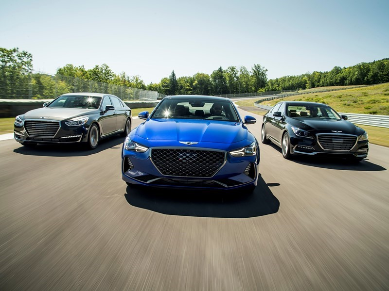 GENESIS LINEUP -- INCLUDING ALL-NEW G70 -- EARN 2019 IIHS TOP SAFETY PICK + AWARDS