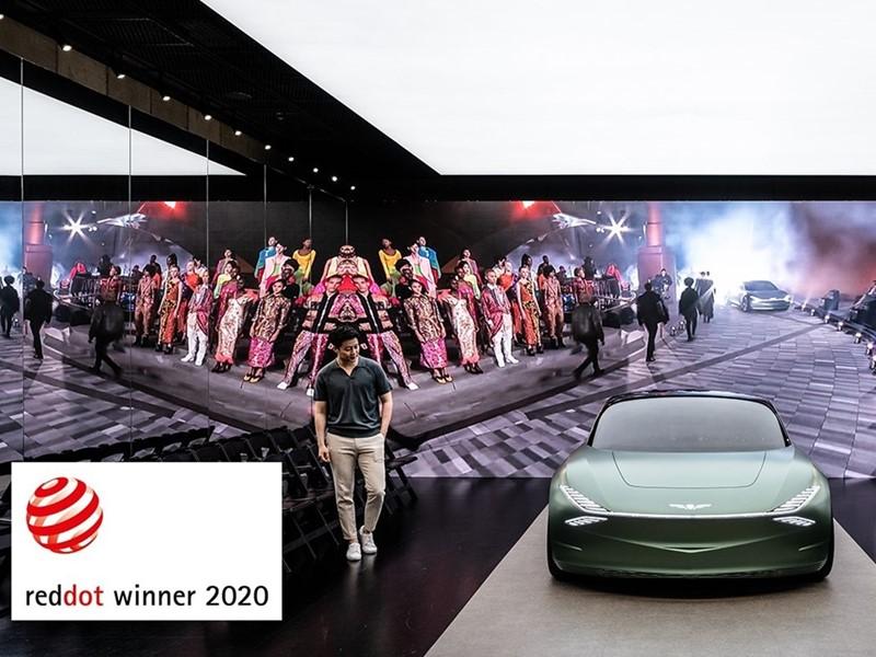 GENESIS WINS FOUR 2020 RED DOT AWARDS
