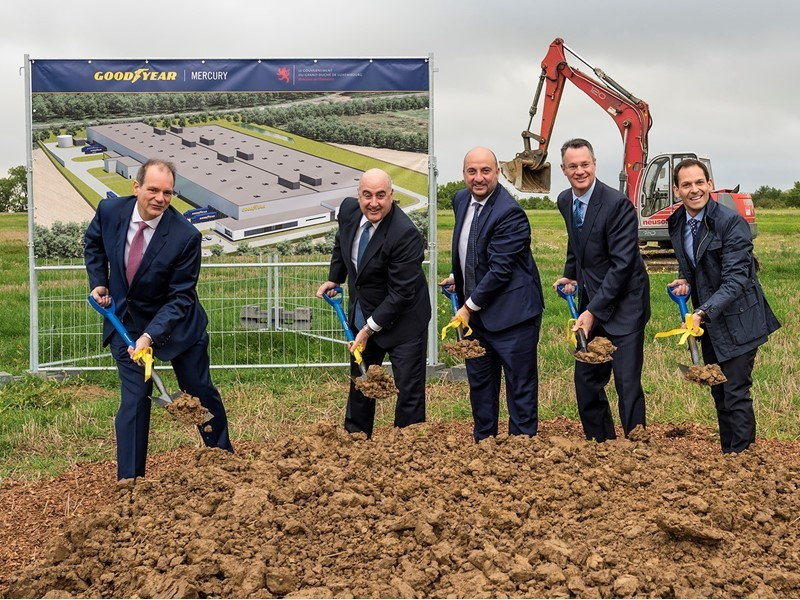 Goodyear Advances Connected-Business Model with Automated Tire Facility