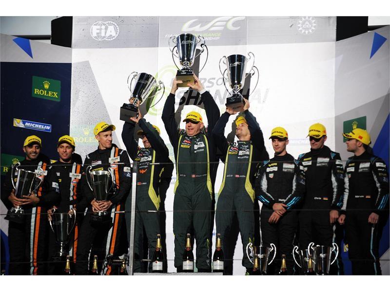 100% Dunlop podium: 1st, 2nd & 3rd in Shanghai LM GTE Am class