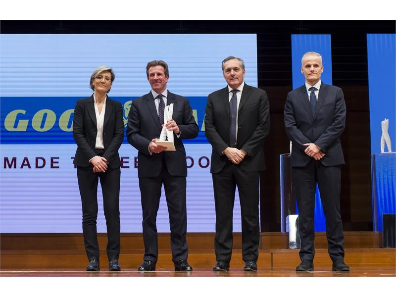 "Goodyear awarded ""Chassis Supplier of the Year"" by Fiat Chrysler Automobiles EMEA for demonstrated c"