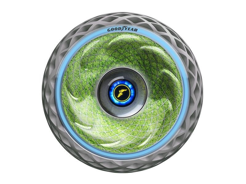 Goodyear Unveils Oxygene, a Concept Tire Designed to Support Cleaner and More Convenient Urban Mobil
