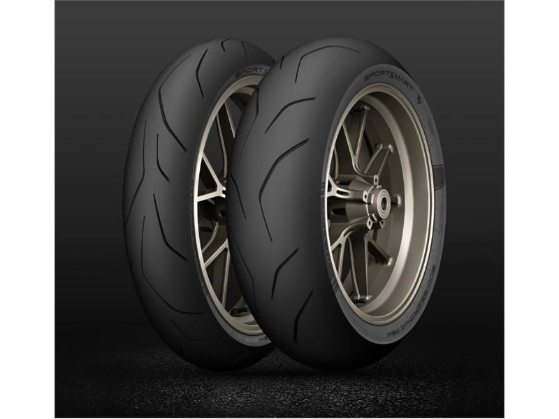 One year, four new tyres. Dunlop leads in hypersport tyre development.