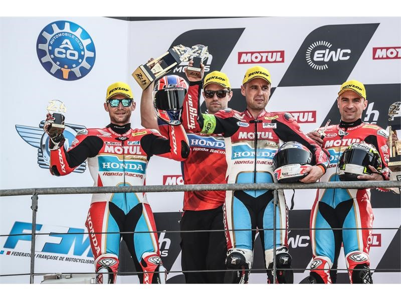 Dunlop teams take three podium finishes at 24 Hours of Le Mans