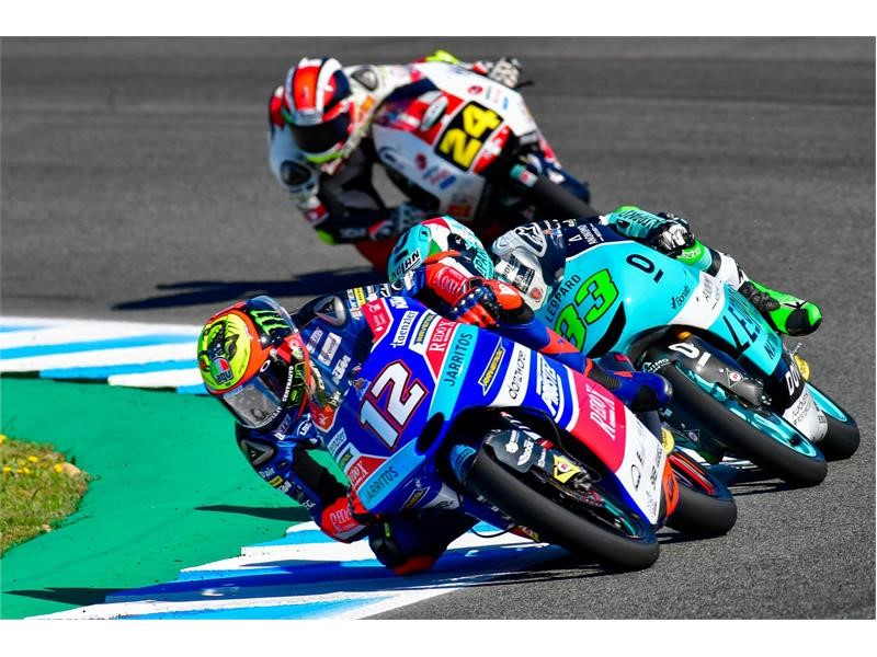Fiercely contested Dunlop Moto2 and Moto3 campaigns resume in France and Italy