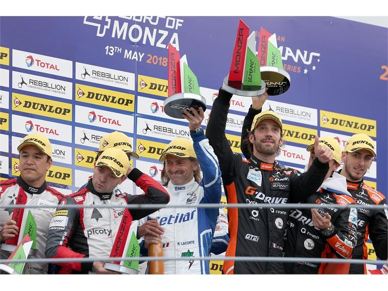 Monza delivers Dunlop ELMS 1-2 in LMP2