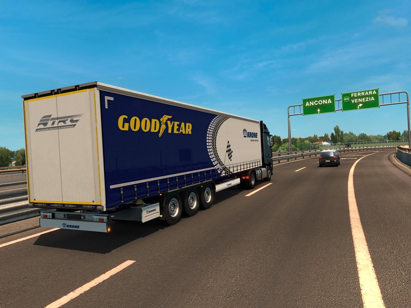Virtuality meets Reality for Goodyear at Misano Truck Race