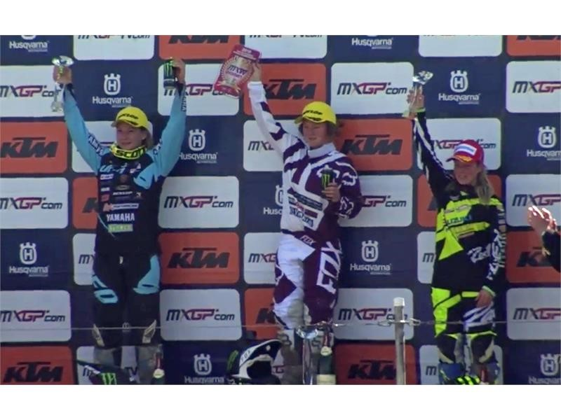 Dunlop 1-2 in WMX at MXGP of Germany