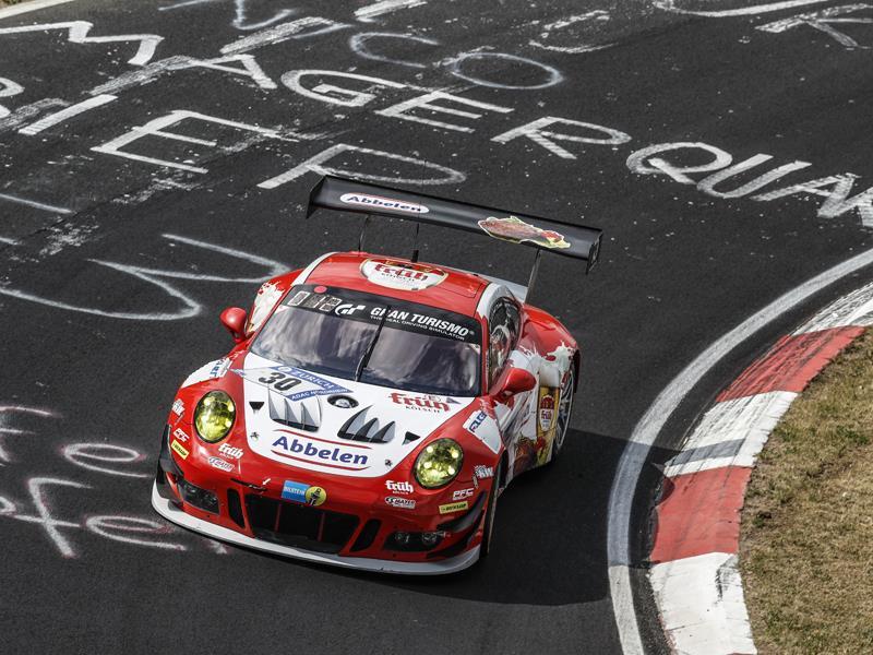Porsche and Dunlop - Nürburgring Winners