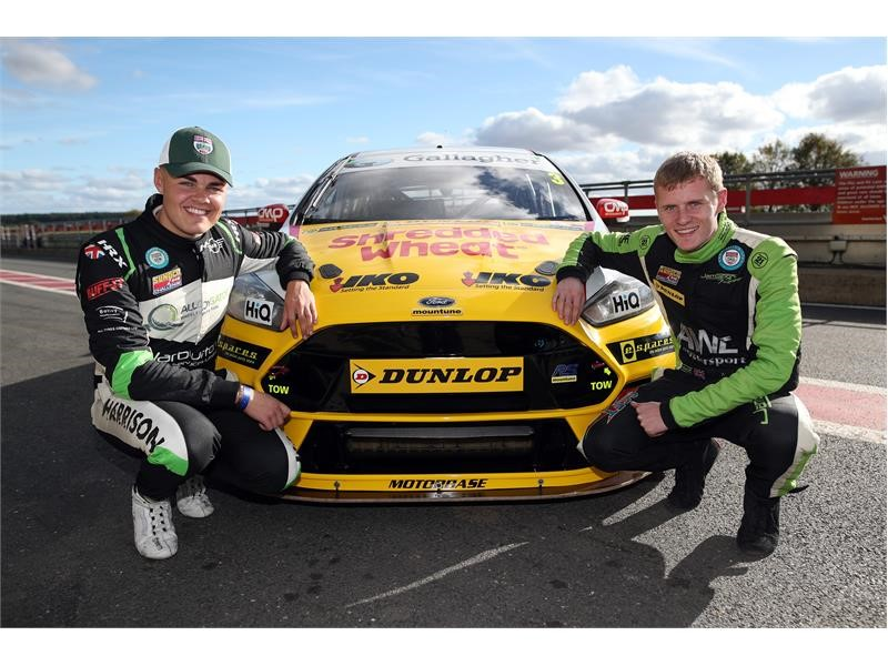 Dunlop puts young talent to the test with BTCC opportunity