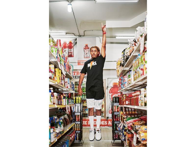 "Gatorade-Jordan Brand ""Like Mike"" Footwear and Apparel Collaboration"