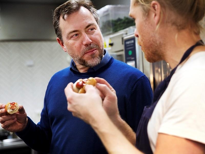 IKEA develops a Veggie hot dog for the IKEA Bistro