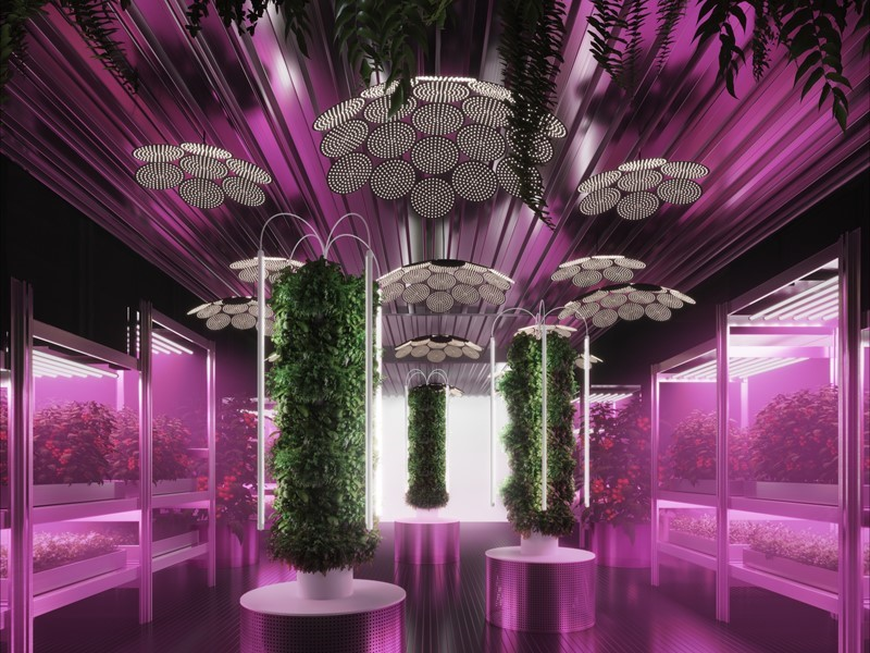 IKEA and Tom Dixon explore urban farming at Chelsea Flower Show