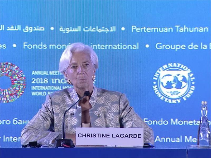 "IMF's Lagarde: ""We Are Stronger Together"""