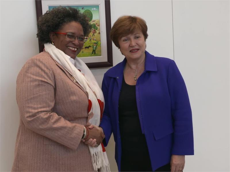 IMF Barbados Visit