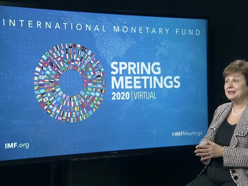 IMF Spring Meeting's Curtain Raiser Speech with MD Georgieva