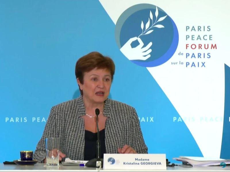 IMF / Kristalina Georgieva Remarks at Paris Peace Forum