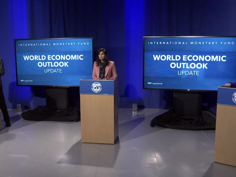 IMF World Economic Outlook Update