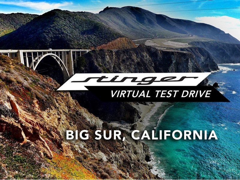 Kia Motors Launches 4D Virtual Test Drives for the All-New Stinger Sports Sedan
