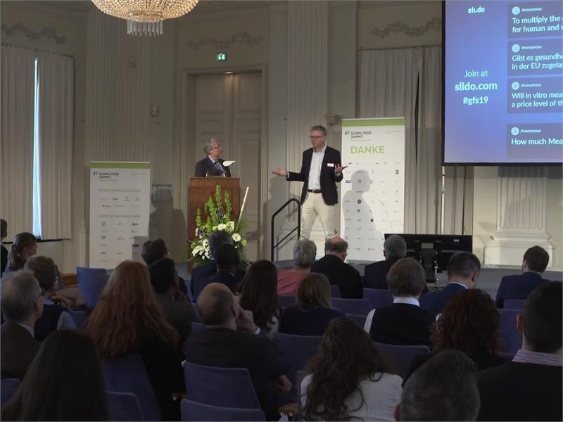 """Global Food Summit 2019: """"Wenn wir Lebensmittel neu denken, können wir die Welt verändern"""""""