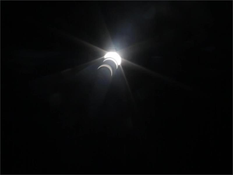 Eclipse flight to Munich, Germany - footage