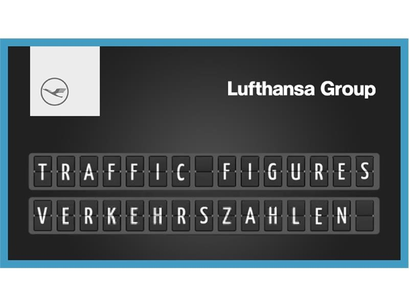 Lufthansa Group begrüßt im Juli 13 Millionen Passagiere an Bord ihrer Flugzeuge
