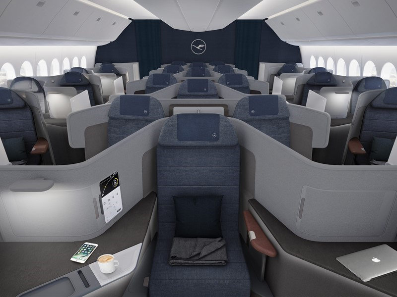 Lufthansa reveals the first secrets of its new Business Class