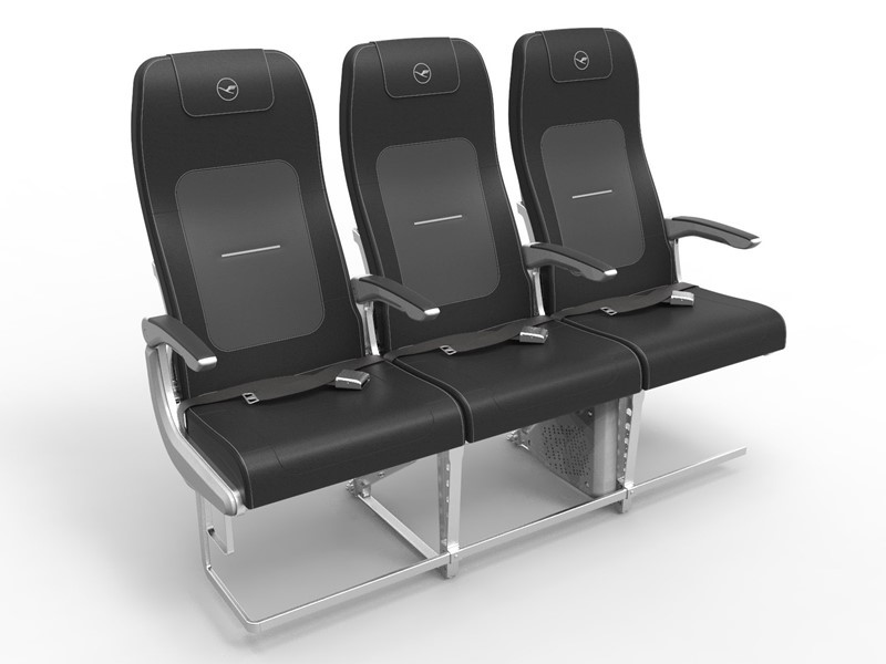 Lufthansa Group presents new seat for Airbus A320 Family aircraft