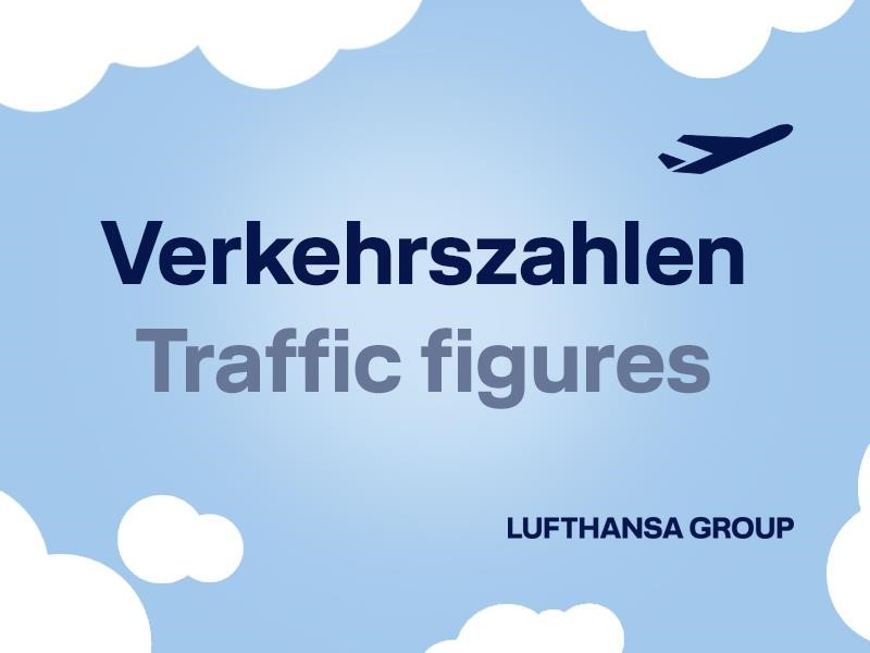 Airlines der Lufthansa Group begrüßen im April 2018 rund 12,2 Millionen Fluggäste an Bord