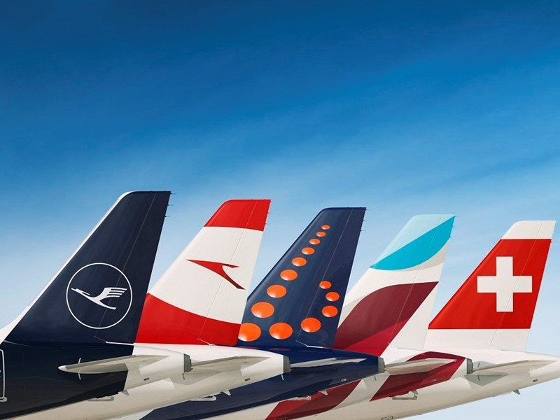 All Lufthansa Group airlines achieve substantial growth in the first half of 2018