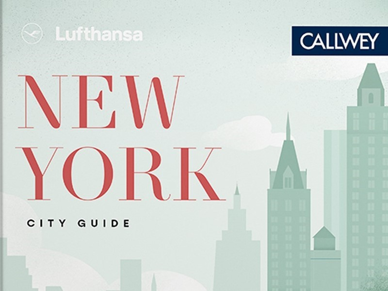 Lufthansa's own travel guide