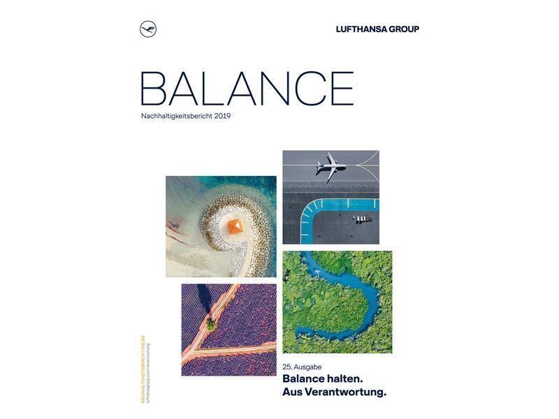 Balance halten. Aus Verantwortung: Lufthansa Group veröffentlicht 25. Nachhaltigkeitsbericht