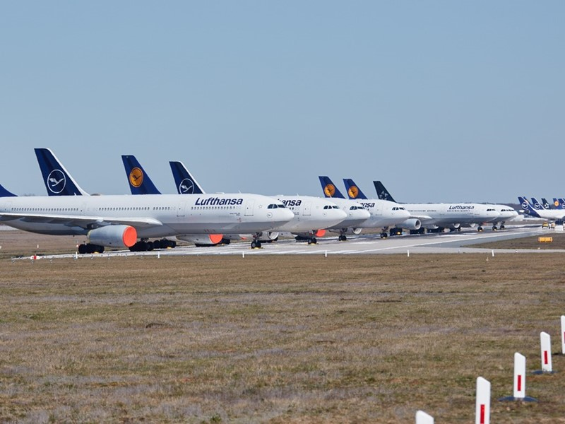 Lufthansa agrees on short-time work