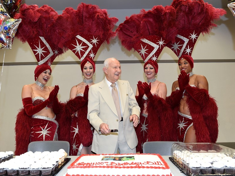 Las Vegas Convention and Visitors Authority Employee Recognized for 100th Birthday